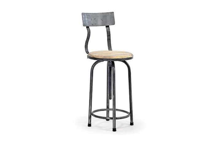 metal swivel stool hudson goods