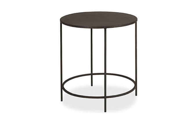 room board round side table