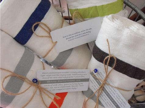 8knots seersucker towel