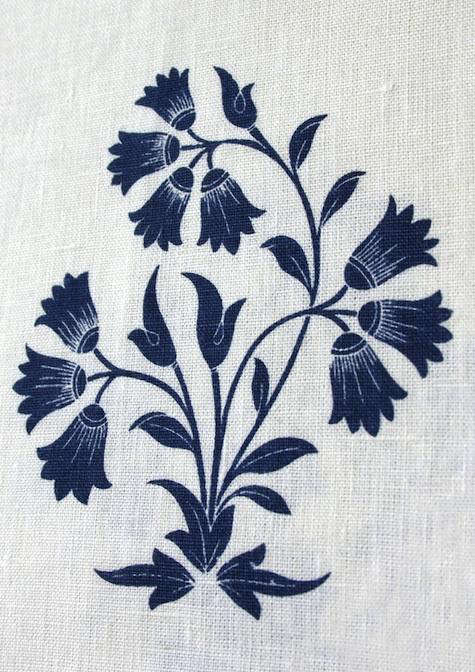 Fabrics  Linens British Raj Prints from Borderline portrait 4