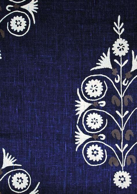 Fabrics  Linens British Raj Prints from Borderline portrait 3