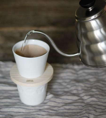 Holiday Gift Donut Coffee Dripper from Torch in Japan portrait 4