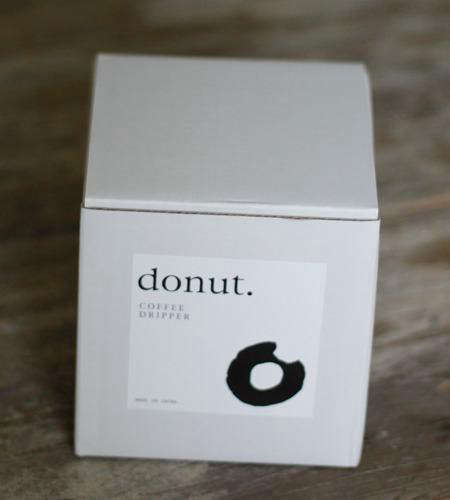 Holiday Gift Donut Coffee Dripper from Torch in Japan portrait 5