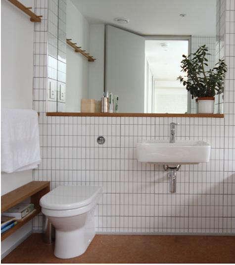 Design Sleuth Shaker Peg Rail in the Bath portrait 3