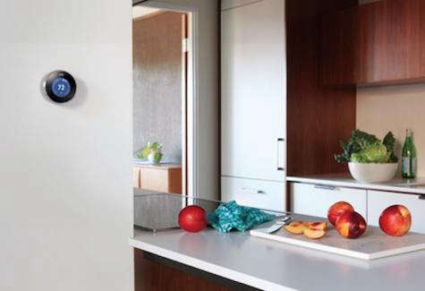 Fixtures  Fittings Nest Learning Thermostat portrait 3