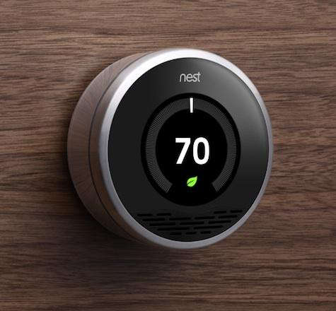 Fixtures  Fittings Nest Learning Thermostat portrait 4