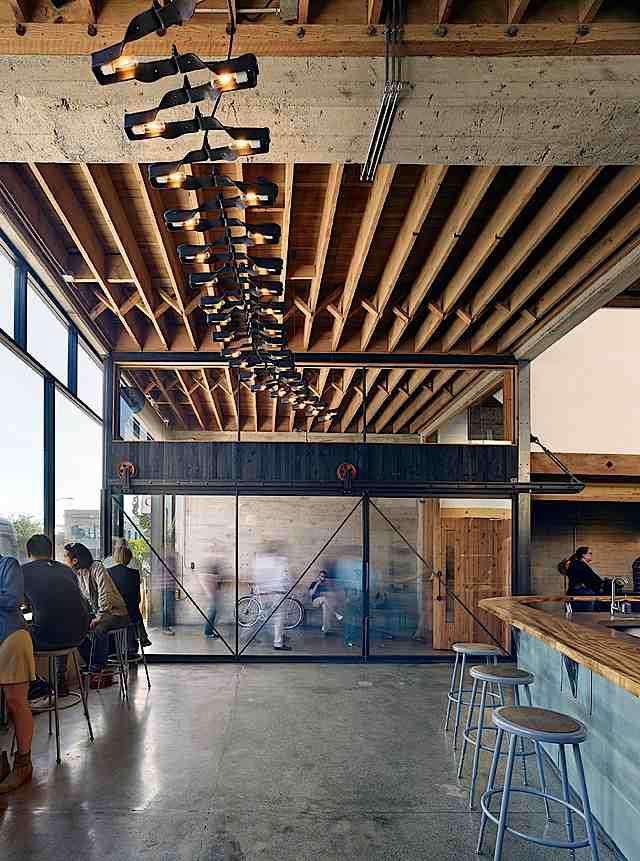Architect Visit Sightglass by Boor Bridges Architecture in San Francisco portrait 3