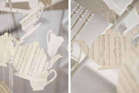 weylandts paper chandelier piece