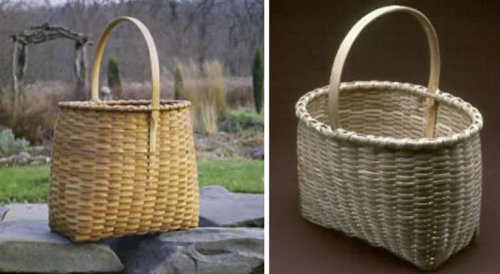 700 blackash baskets light wood