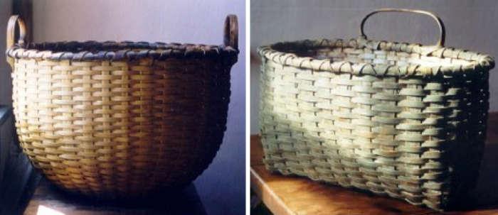 700 blackash baskets two baskets