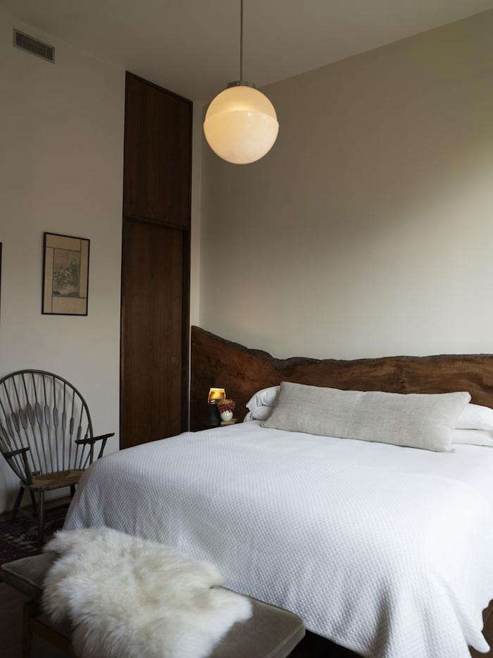 700 bowery bedroom live edge headboard