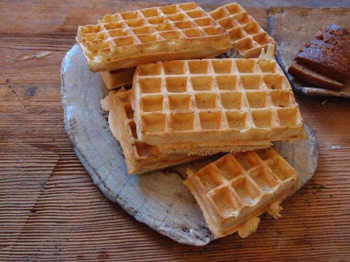700 cecile daladier waffles on plate
