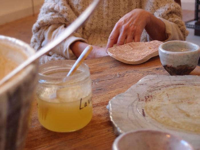 700 cecile daldier honey jars