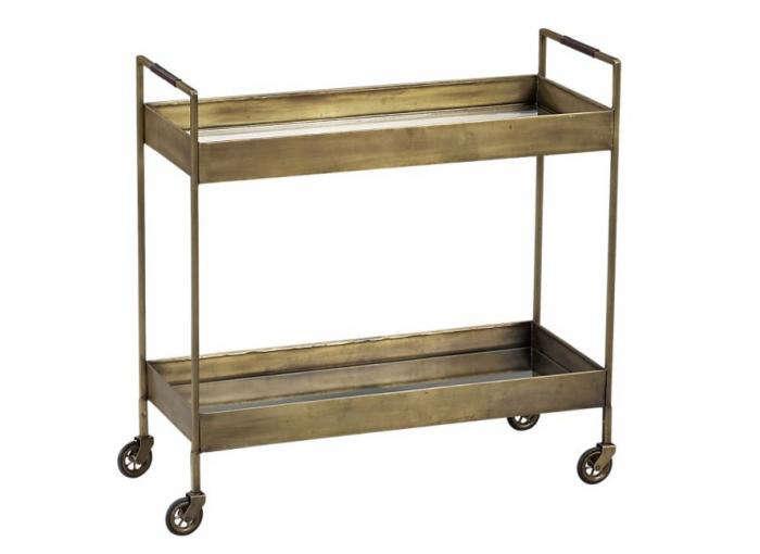 700 crate barrel bar cart 100