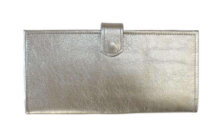 700 erica tanov silver clutch