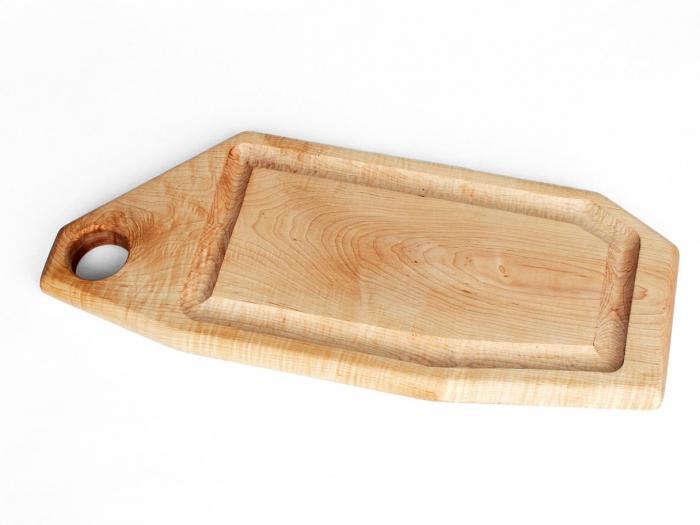 700 fern single butcher board
