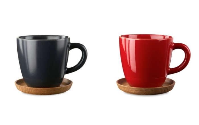 700 hoganas coffee mug saucer