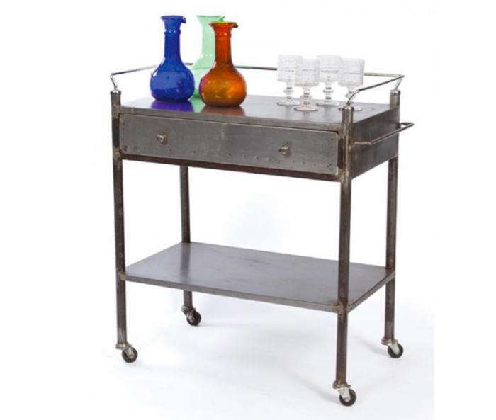 700 iron accents bar trolley 10