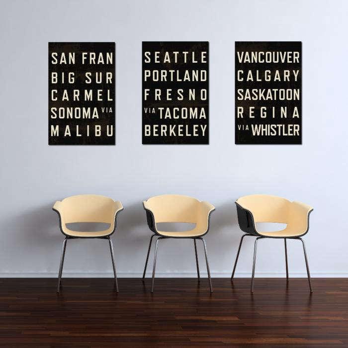 700 modern art typography poster