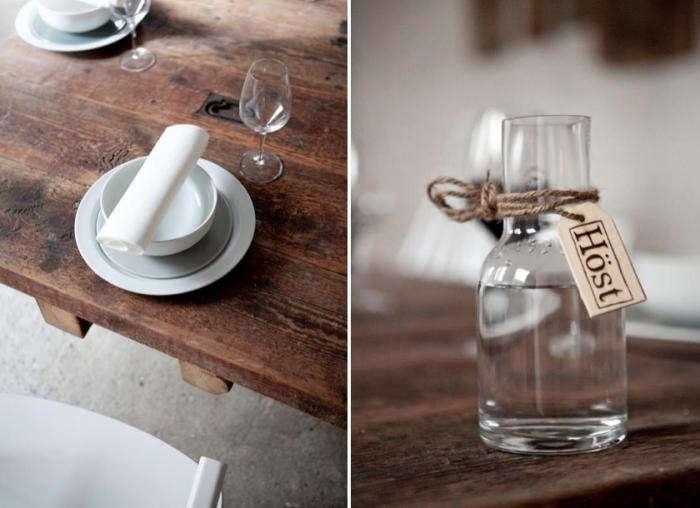 700 restaurant host water bottle