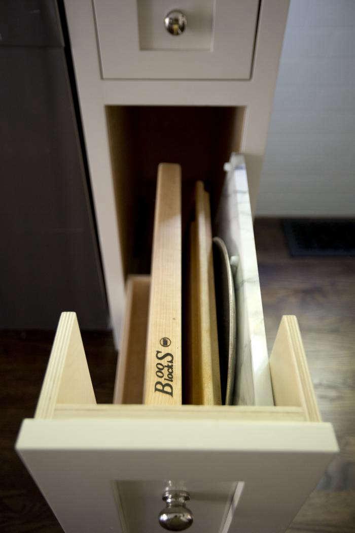 Kitchen Storage A Drawer for Cutting Boards portrait 6