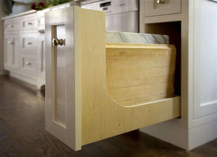 Kitchen Storage A Drawer for Cutting Boards portrait 5