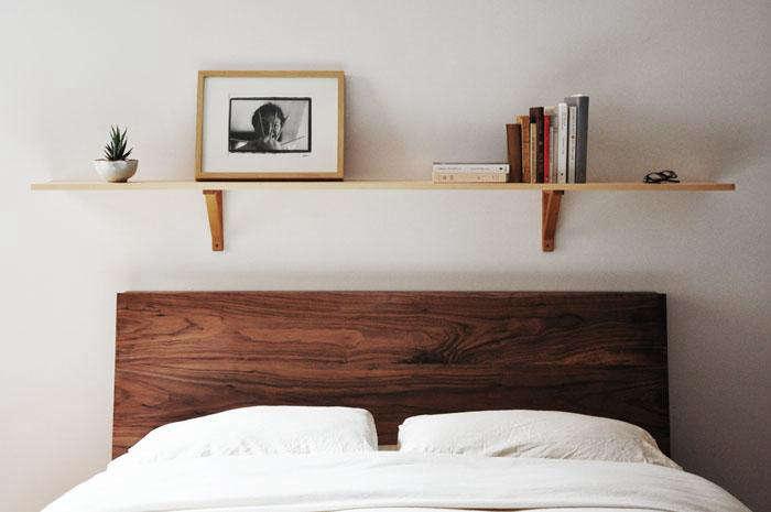 700 wooden headboard shelf 3
