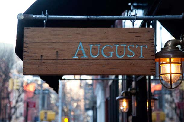 Urban Rusticity in NYC August Restaurant portrait 3