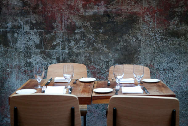 Urban Rusticity in NYC August Restaurant portrait 6