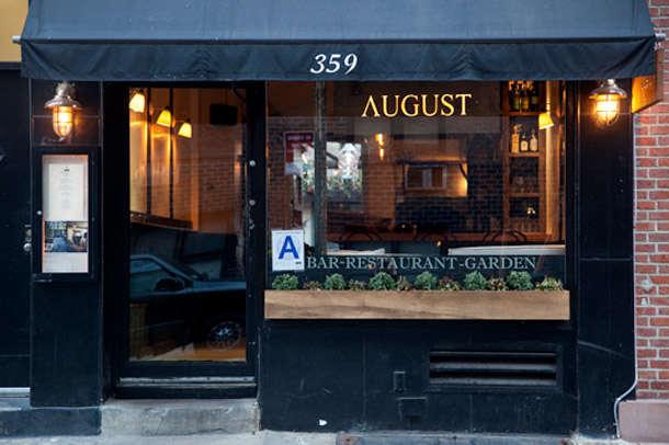 august restaurant nyc 1
