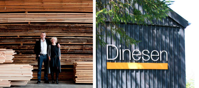 dinesen couple and wood