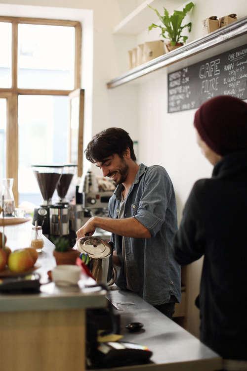Ten Belles International Coffee in Paris portrait 3