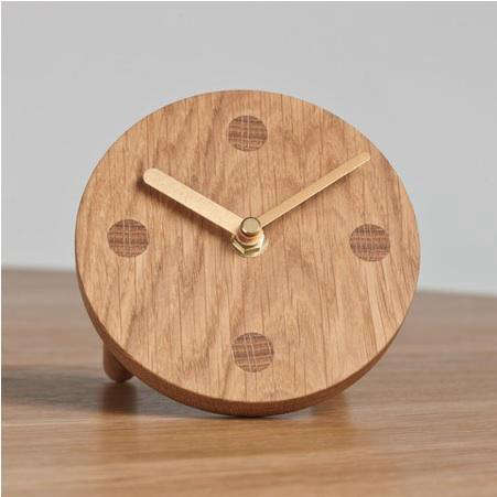 Accessories Wooden Clock from Another Country portrait 3