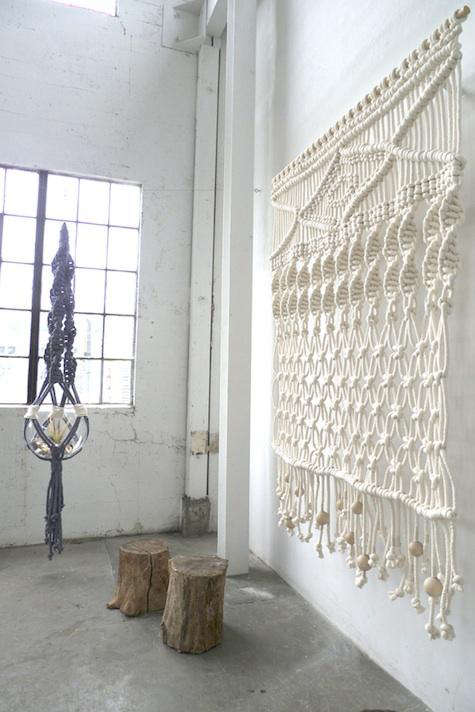 Accessories Macrame Wall Hangings by Sally England in Portland Oregon portrait 4