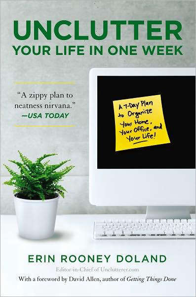 Required Reading Unclutter Your Life In One Week by Erin Rooney Doland portrait 3