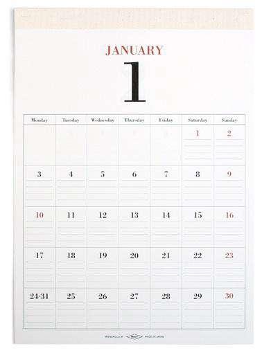 Office Mucu Wall Calendar from Vetted portrait 3