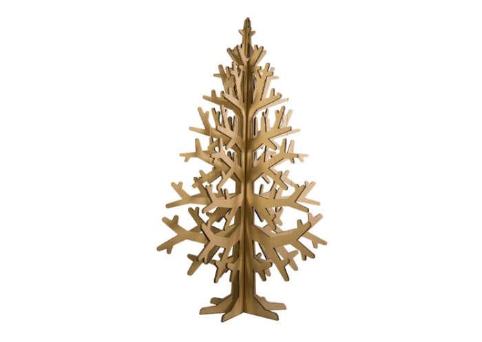 700 cardboard christmas tree two