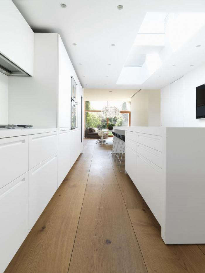 700 dinesen wide oak floor kitchen