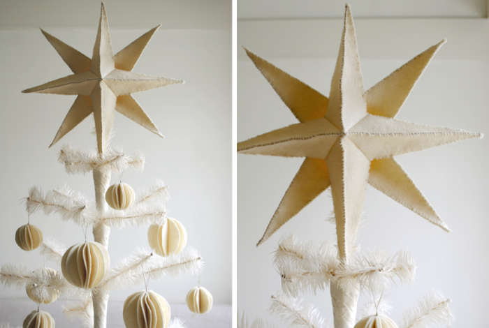 700 felted star diy project