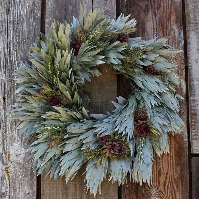 700 flora grub silvery wreath
