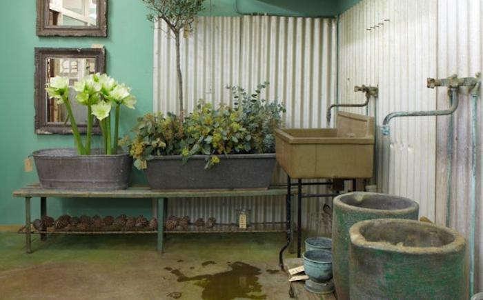 700 garbo interiors green wall