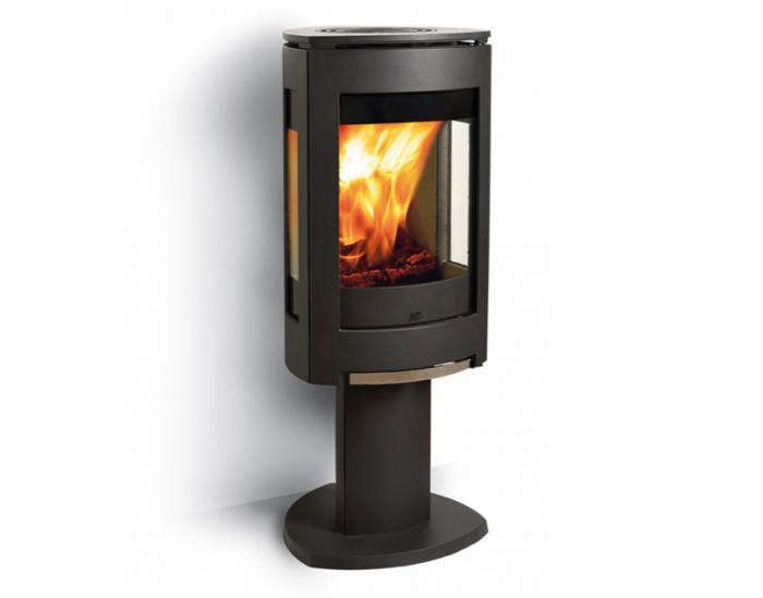 700 jotul modern wood burning stove