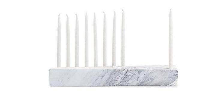 700 marble menorah dwr