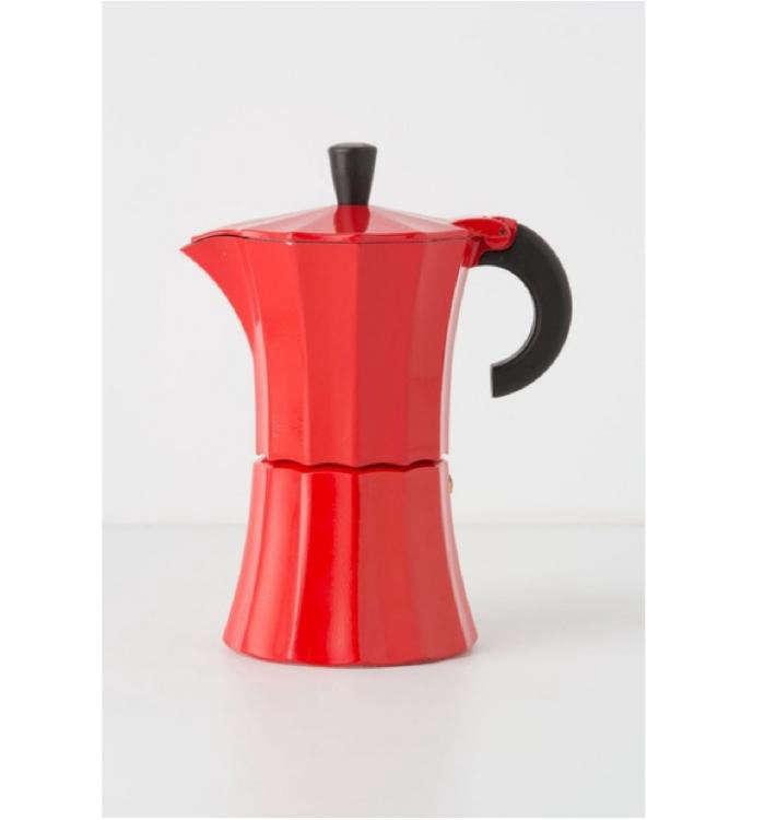 700 red bialetti coffee pot