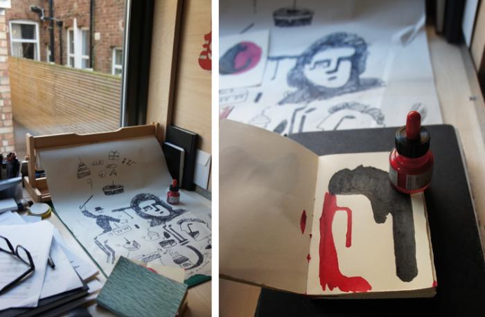 A Graphic Designers Studio in London portrait 7