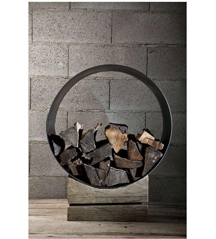 civico quattro fireplace holder