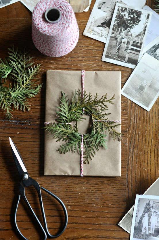 flora grubb wreath packaging