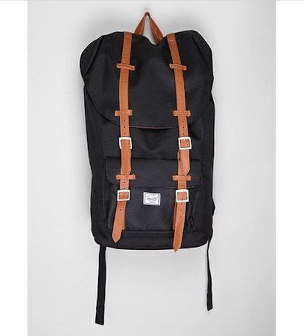herschel little backpack framed