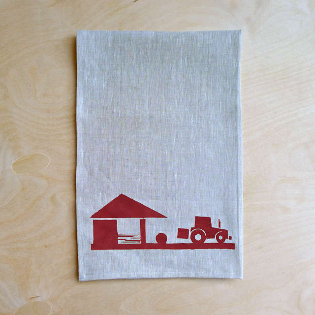 Farm to Table Graphic Linens from Ireland portrait 4