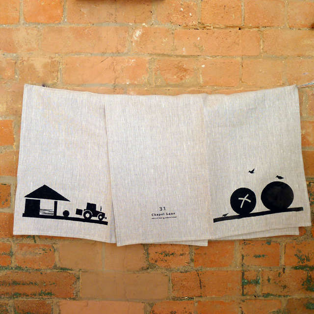 Farm to Table Graphic Linens from Ireland portrait 5